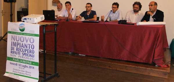 Clima tesissimo all assemblea sull impianto trasformazione - Tavolo matto porto potenza ...