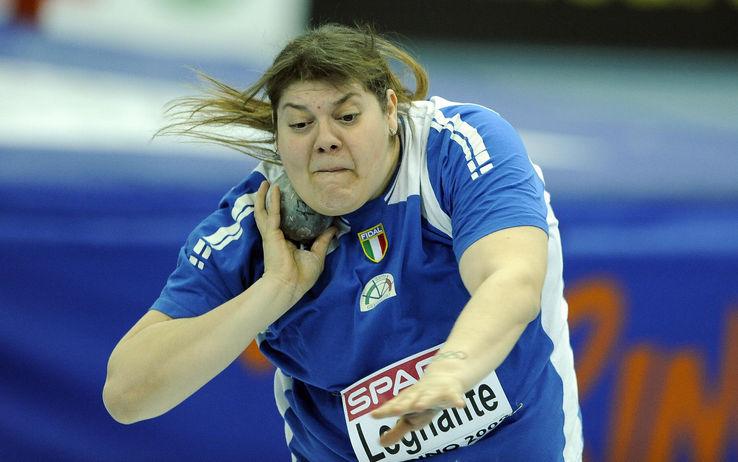 Legnante d'oro alle Paralimpiadi Assunta trionfa nel getto del peso