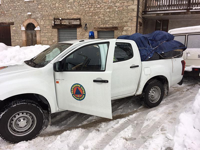 Squadra protezione civile recanati raggiunge fattoria lucarini for Vecchie planimetrie della fattoria