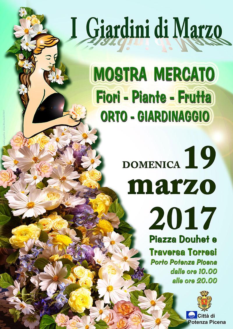 Porto potenza ospiter giardini di marzo mostra mercato for I giardini di marzo