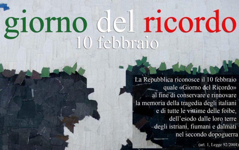 Giorno del ricordo, le iniziative a Montemurlo