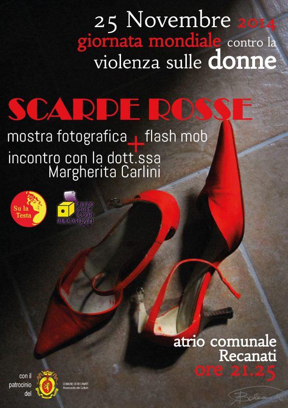 martedi tante scarpe rosse contro la violenza sulle donne iniziativa di su la testa violenza sulle donne iniziativa
