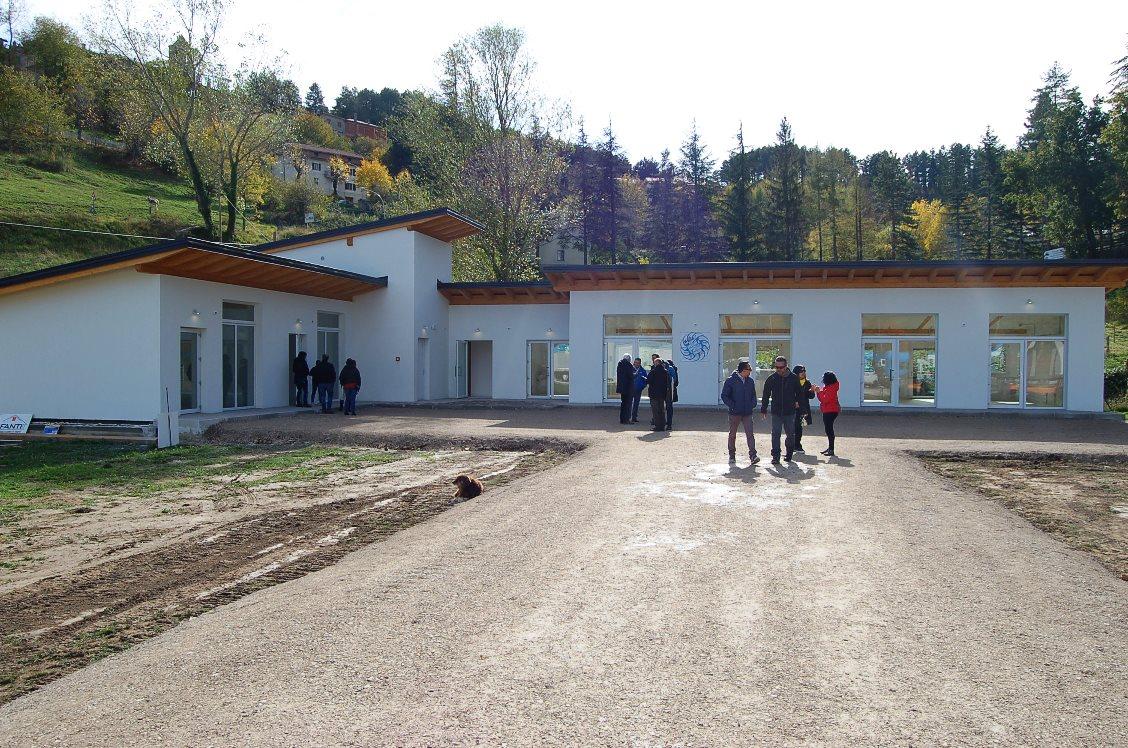 Montegallo Inaugurato Il Centro Socio Commerciale Donato