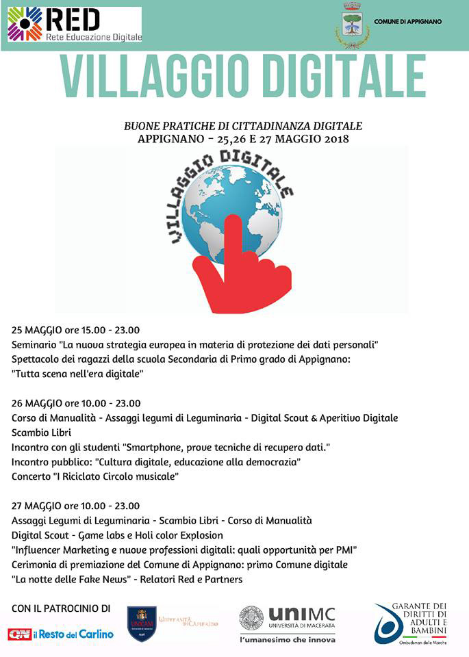 villaggio digitale programma