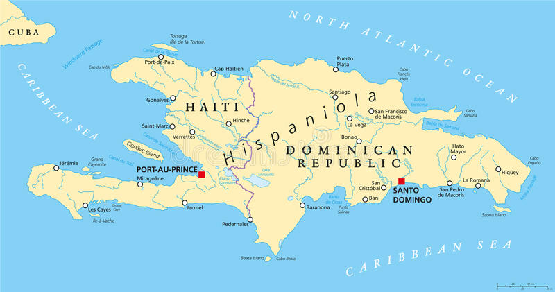 Map Of Dominican Republic And Haiti Photo Pic With Map Of Dominican Republic And Haiti