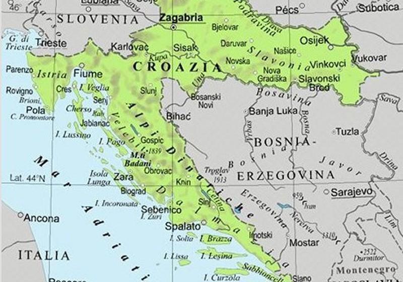 Italia Croazia Cartina.Interreg Italia Croazia 2014 2010 Le Marche Guidano Progetto Made In Land Per Sviluppo Aree Interne
