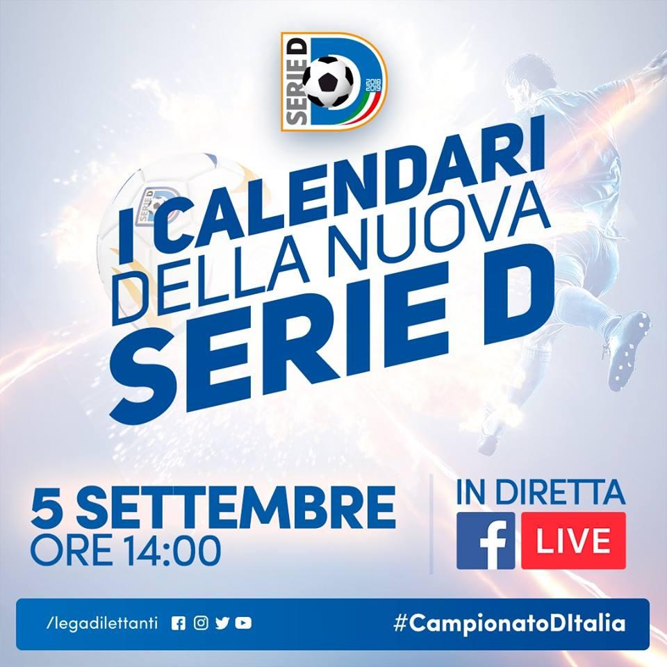 Calendario Serie A Domani.Domani Diretta Dalle 14 Il Calendario Di Serie D Della