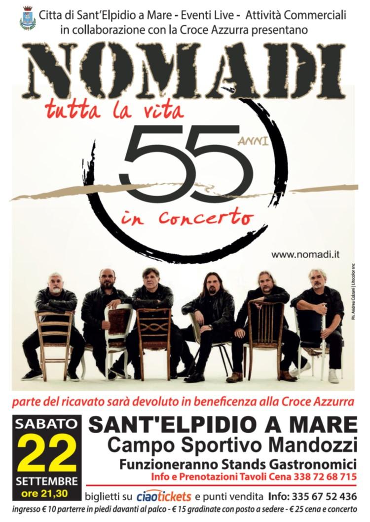 Calendario Concerti Nomadi.Marco Masini Nomadi E Folkstone Sant Elpdio A Mare Dal 21